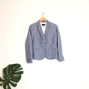 🌟 Talbots seersucker blazer